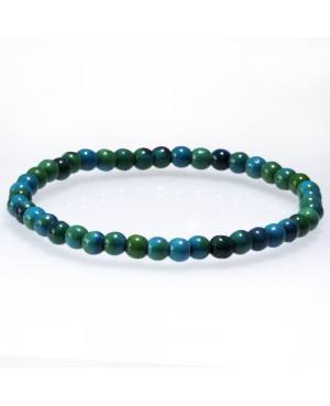 Tinted Chrysocolle bracelet