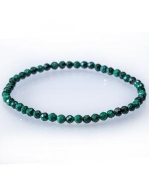 Bracelet facetté Malachite