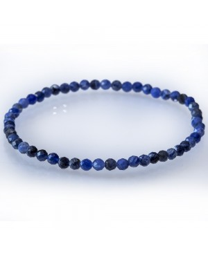 Sodalite faceted bracelet
