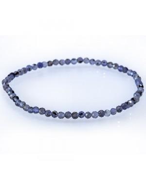 Bracelet facetté Iolite