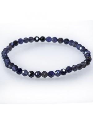 Tanzanite faceted bracelet