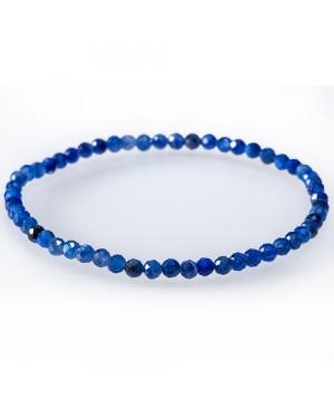 Bracelet facetté Apatite