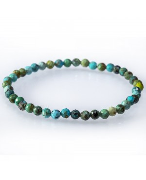 Turquoise faceted bracelet