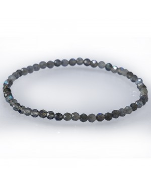 Labradorite faceted bracelet