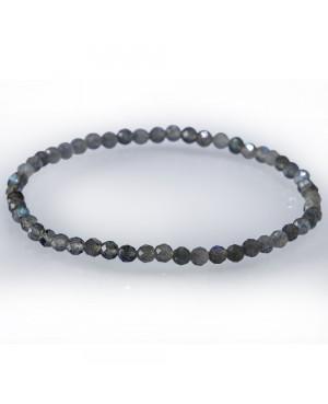 Bracelet facetté Labradorite