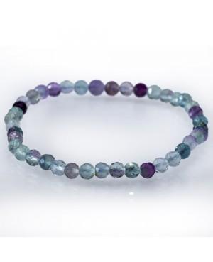 Fluorine faceted bracelet